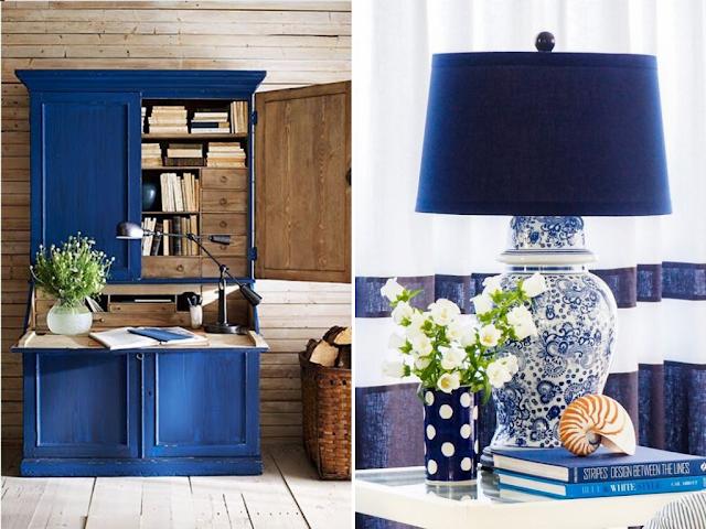 classic blue decoração cor do ano