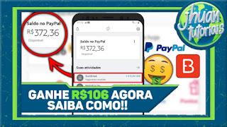 Como Ganhei R$106 no PayPal Com esse Aplicativo 2020