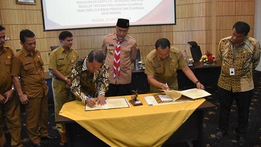 Tingkatkan Pengelolaan Keuangan Daerah, Pemko Padang Gaet BNI
