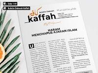 HARAM MENGHAPUS AJARAN ISLAM