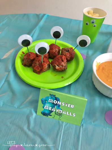 Monsters Inc Party Food