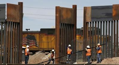 El Pentágono autoriza una nueva partida de 1.500 millones de dólares para financiar la construcción de parte del muro fronterizo entre EE.UU. y México