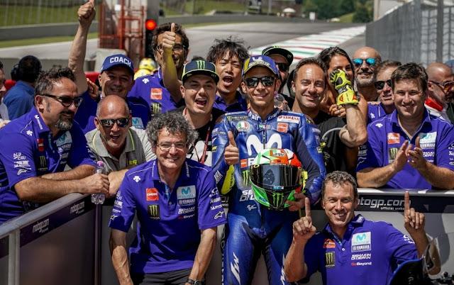 ロッシ MotoGP2018 イタリアGP 予選
