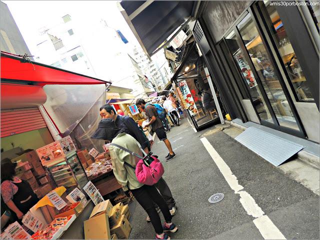 Tsukiji's Outer Market, Tokio