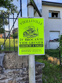 brocante in ons dorp Mourioux Vieilleville