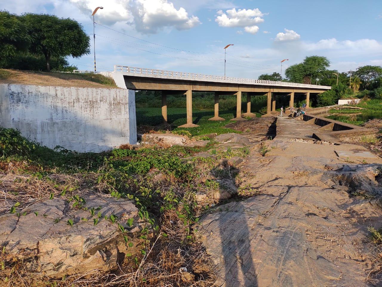 Reforma da barragem do Rio Salgado está 90% concluída