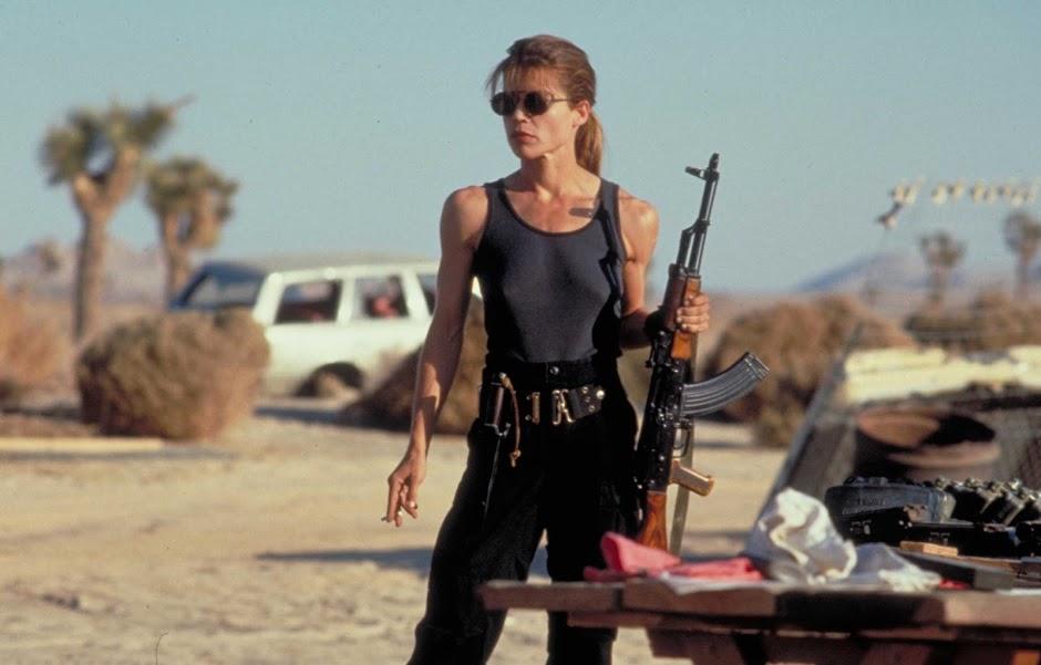 """Linda Hamilton retornará no próximo """"Exterminador do Futuro"""""""