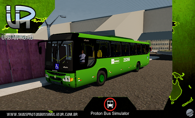 Skin Proton Bus Simulator - Viale MB OF-1722 Matias