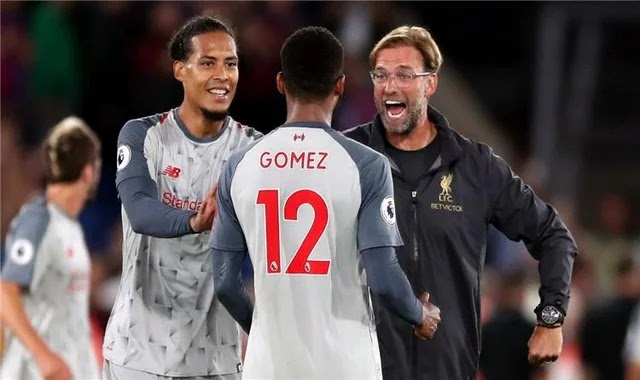 Klopp excludes Van Dyck and Gomez's participation in Euro 2020