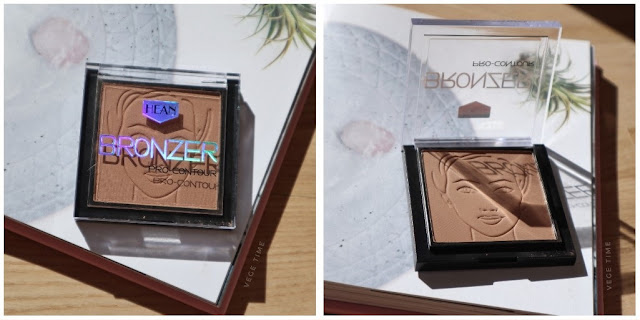 Top 4 Bronzers for Light Complexion Hean pro-contour Cappucino 400