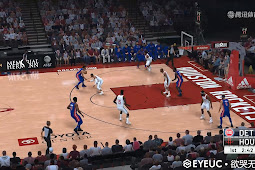NBA 2K20 Realism Graphic Mod Houston Rockets Arena by Looyh