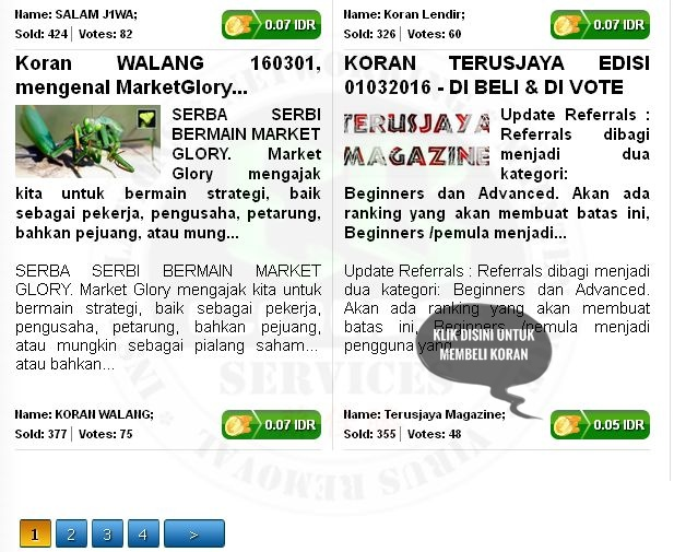 Koran MarketGlory