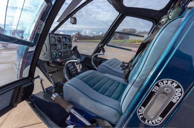 Enstrom 280FX Cockpit