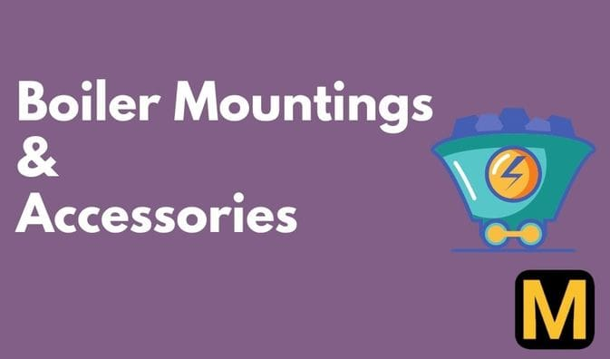 Boiler mountings and accessories | The Mechanical post