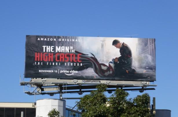 Man in High Castle final season 4 billboard
