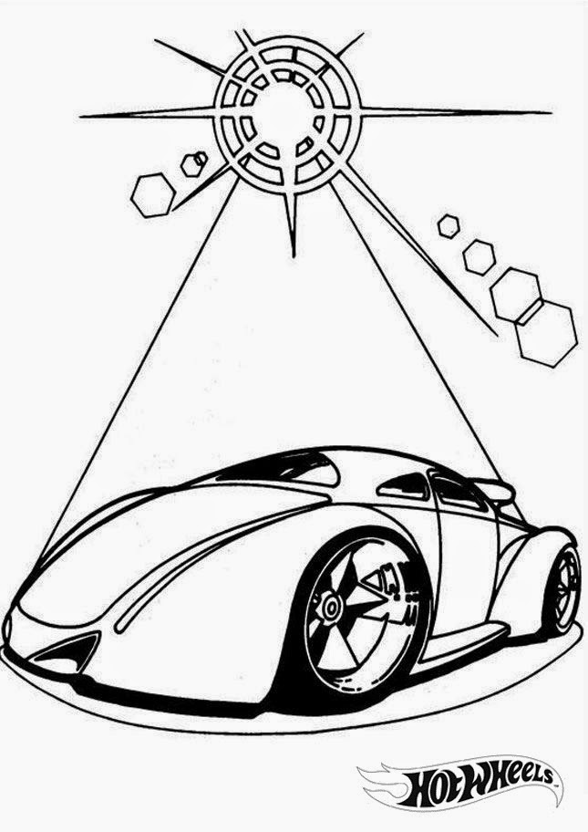Hot Wheels Coloring Pages 32
