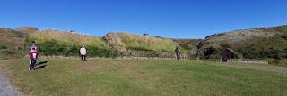 Granja Vikinga Þjóðveldisbærinn Stöng. Islandia, Iceland.