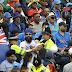 वर्ल्ड कप के दूसरे सेमीफाइनल में क्रिकेट ग्राउंड के ऊपर से फिर उड़ा विमान, इस बार लिखा था कुछ ऐसा!