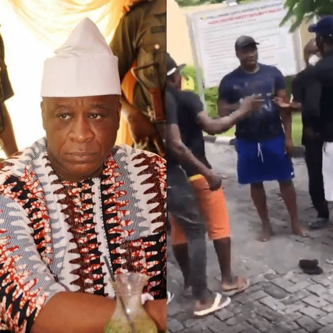 Reason why Tijani Oniru, son of the late Oba de Oniru was attacked by 'security men