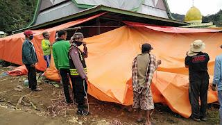 Sambagi Warga Binaan Bhabinkamtibmas Himbau Untuk Selalu Patuhi Protokol Kesehatan