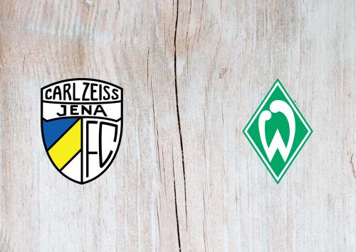 Carl Zeiss Jena vs Werder Bremen -Highlights 12 September 2020