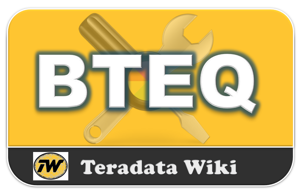 Teradata Wiki: BTEQ