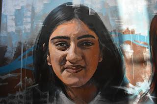 Parramatta Street Art   'Beyond Stereotypes' by  Inovis. Rivoli Ln Mural
