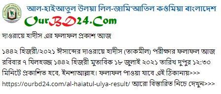 Al Haiatul Ulya Result 2021