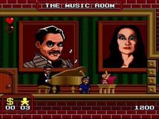 Videojuego The Addams Family
