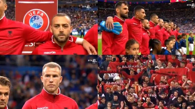 UEFA to fine France with € 100,000 after mistaking Albania's anthem with that of Andora and Armenia