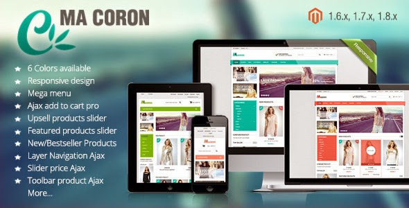 themeforest Fashion Responsive Magento Theme