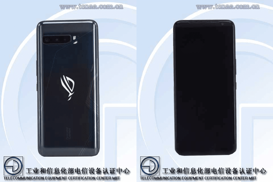 TENAA listing pictures of the ROG Phone 3
