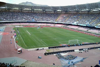 Inside the Stadio San Paolo