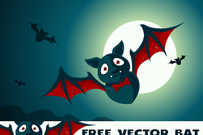 Vector Cartoon Bat Png   Kelelawar Png