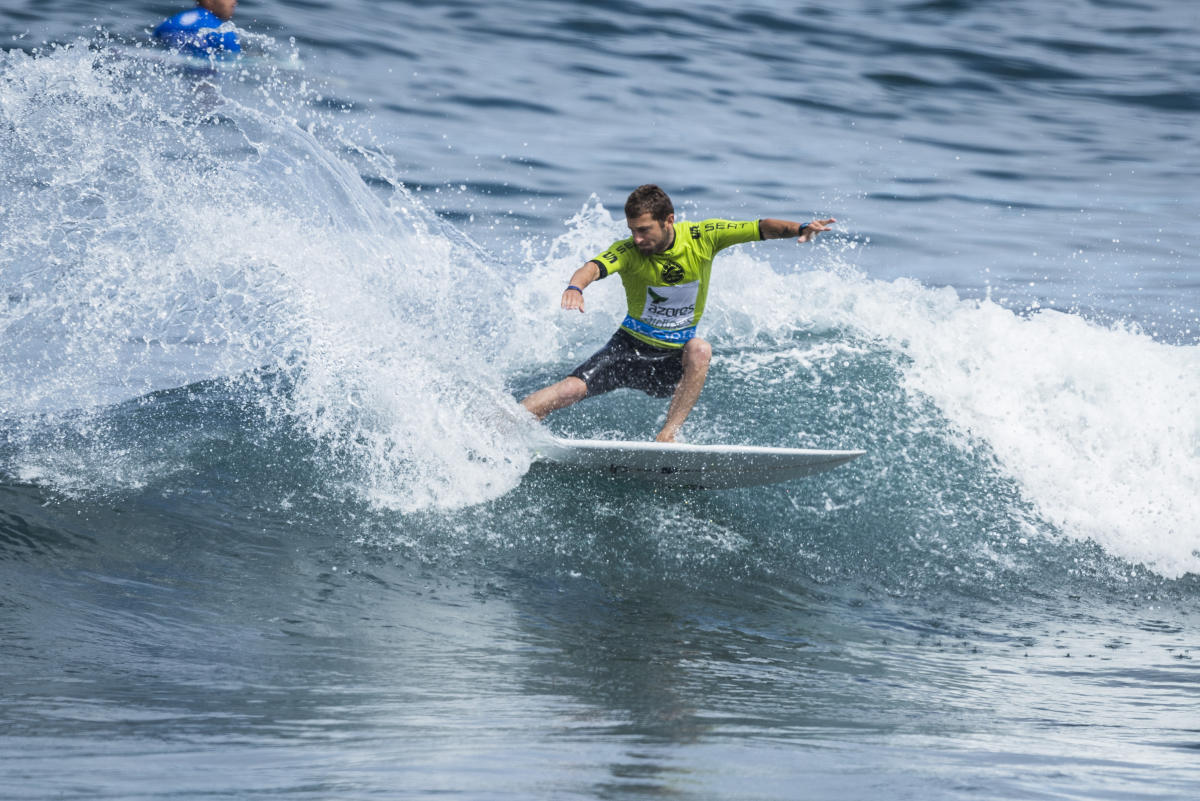 2017 Azores Airlines Pro Highlights Competition Continues in Improved Conditions