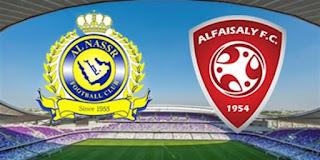 موعد مشاهدة مباراة النصر والفيصلي ضمن الدوري السعودي والقنوات الناقلة