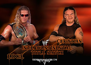 WWE / WWF Unforgiven 2001 - Intercontinental Championship match: Christian vs. Edge