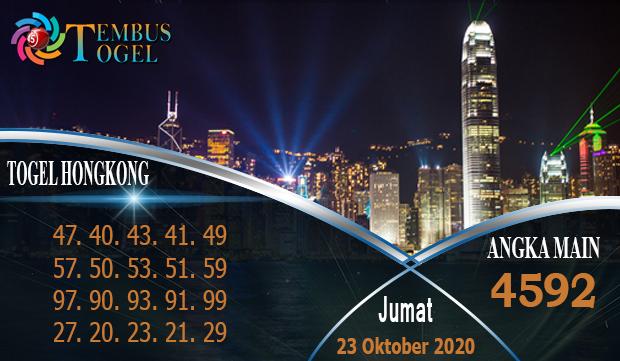 Top Togel Hongkongpools Hari Jumat 23 Oktober 2020