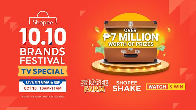 Shopee 10.10 Brands Festival TV Special