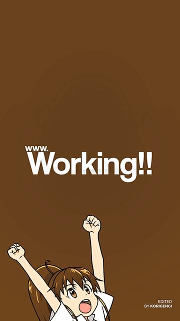 Popura Taneshima - Working!! Wallpaper