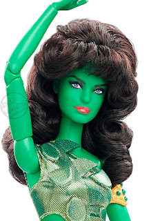 San Diego Comic-Con 2016 Mattel Exclusive BARBIE STAR TREK 50TH ANNIVERSARY DOLL - VINA THE ORION