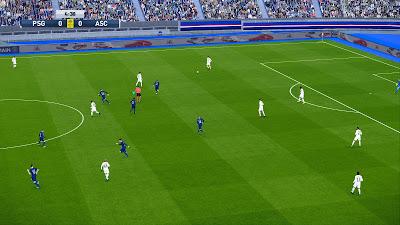 PES 2020 Stadium Parc de Princes with Frostbite Pitch