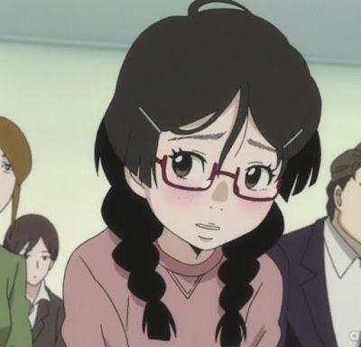 Shy Female Anime Characters