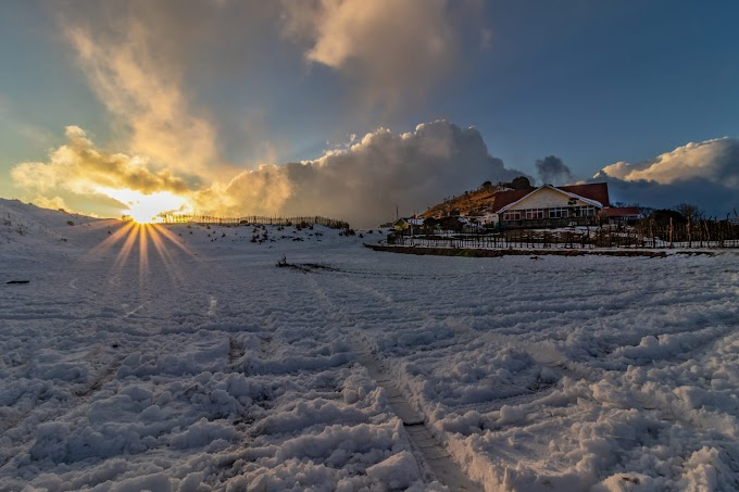 Snow covered Tonglu