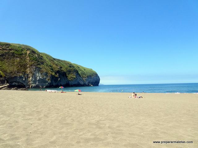 Playa de Santa Bárbara San Miguel Azores