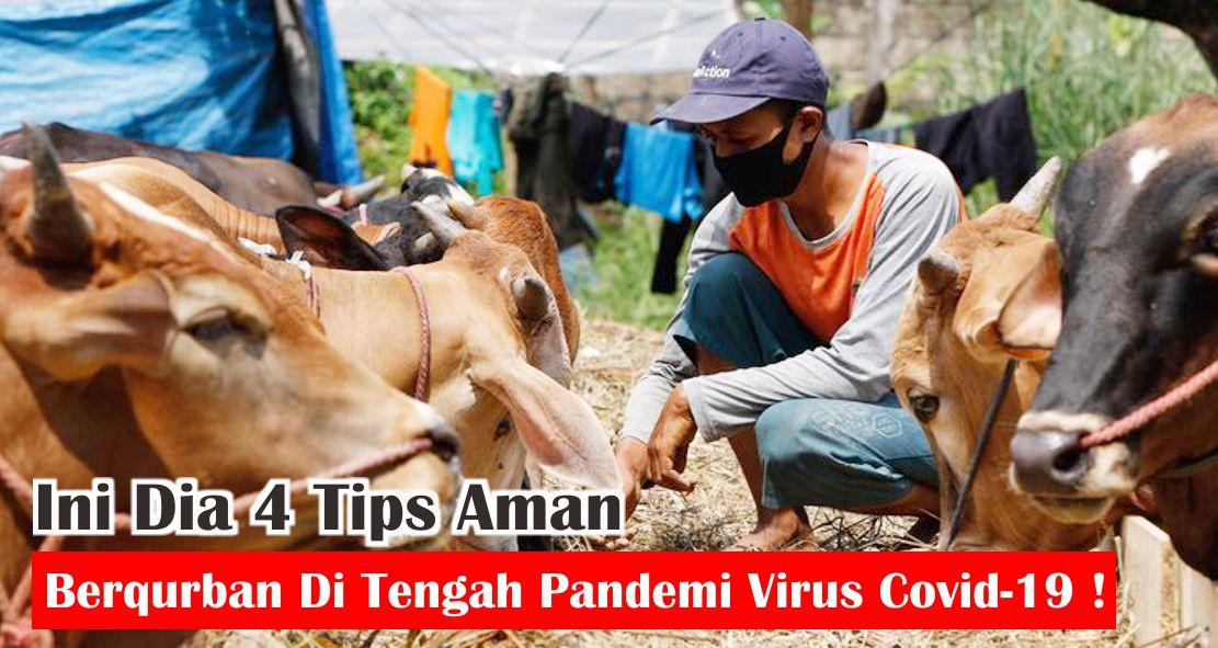Ini Dia 4 Tips Aman Berqurban Di Tengah Pandemi Virus Covid-19 !
