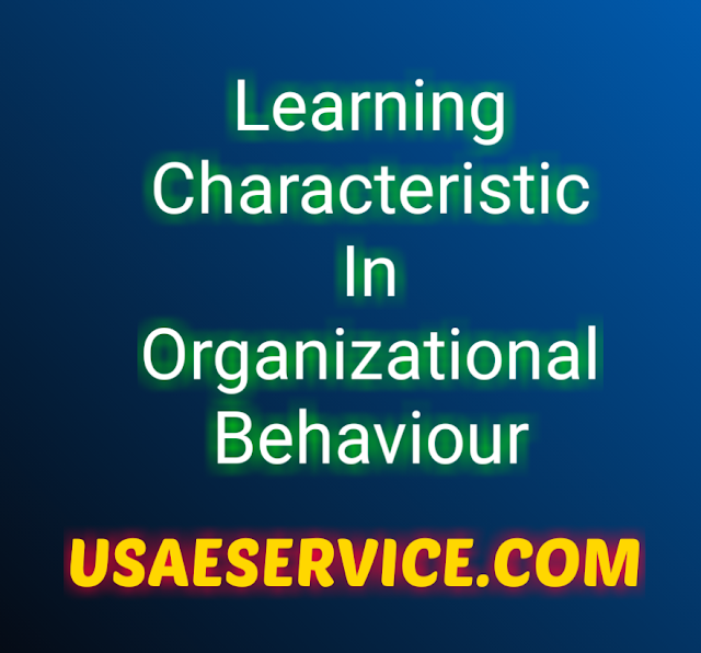 Learning Characteristic In OB