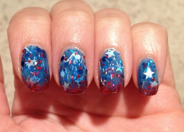 KB Shimmer All American for the 4th!