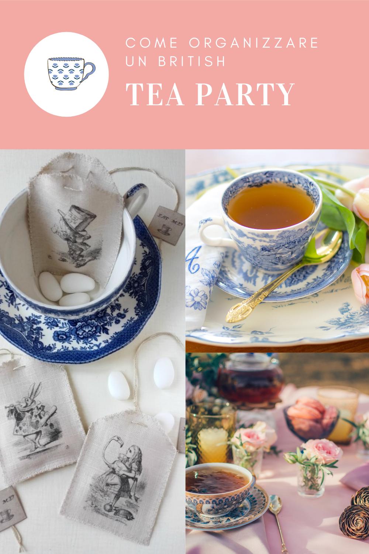 organizzare un tea party
