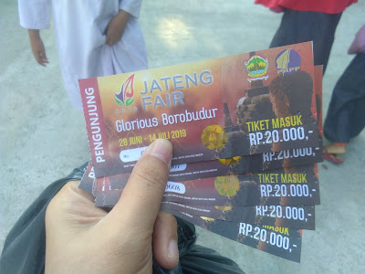 tiket masuk jateng fair 2019